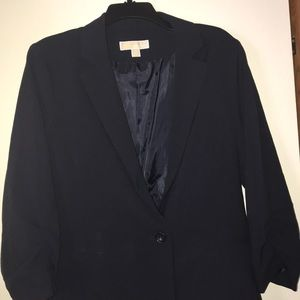 Navy blue Women's Blazer